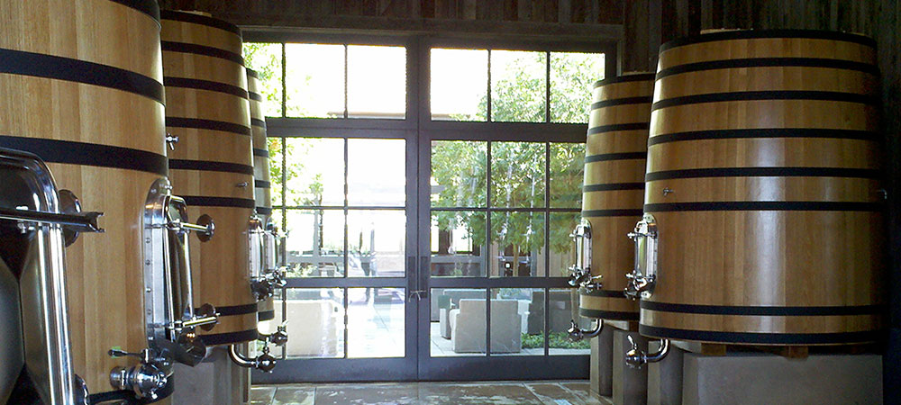Custom Winery Doors