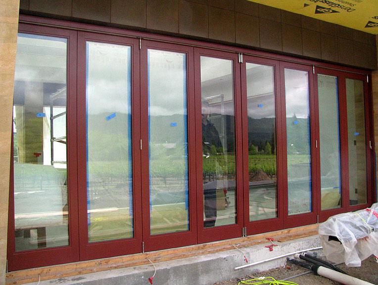 Folding doors exterior folding doors for Folding outdoor doors