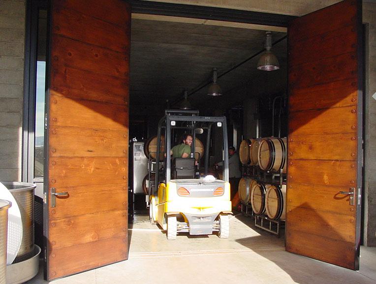 Northstar Woodworks Custom Pivoting Doors Craftsmanship
