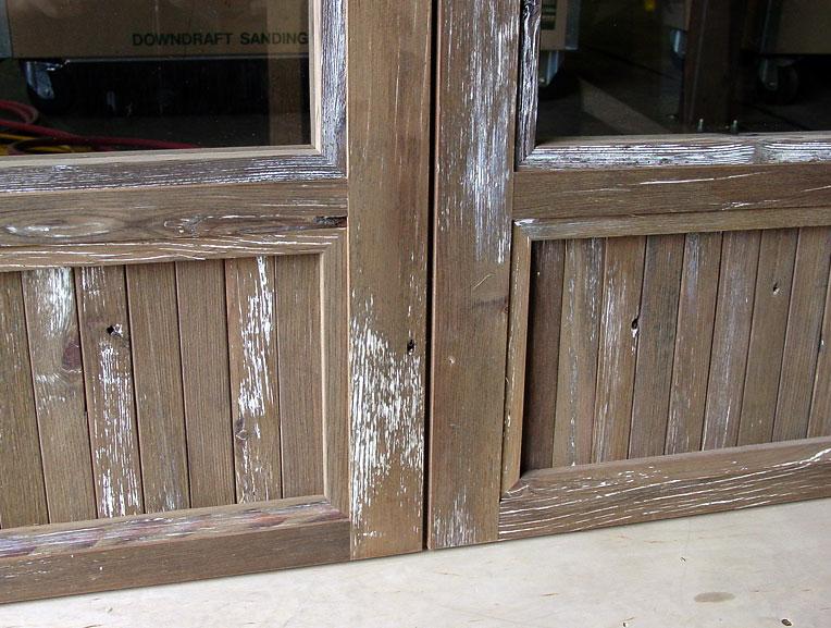 Northstar Woodworks Reclaimed Doors Craftsmanship