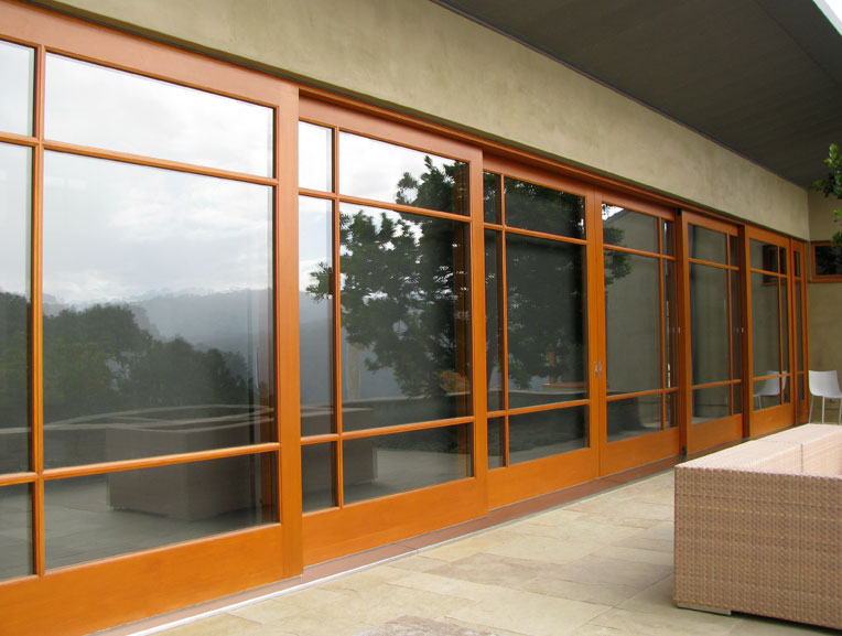 Sliding barn doors exterior sliding glass barn doors for Exterior door with sliding window