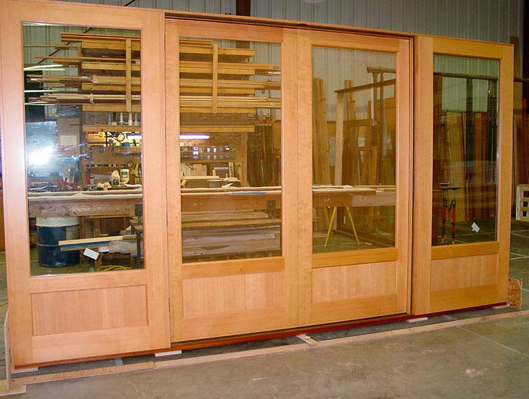 Northstar Woodworks Custom Sliding Doors Craftsmanship