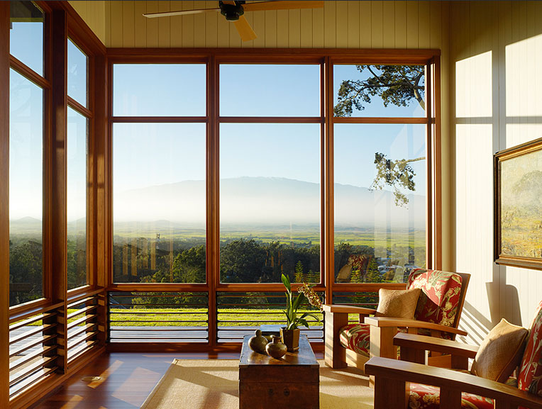 Northstar woodworks craftsmanship window wall for Window wall